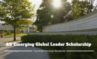 AU Emerging Global Leader funding for International Students in the USA