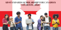 Ad Standards funding for Canadian Students, 2020