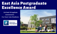 East Asia Postgraduate Excellence Award at University of Nottingham, UK