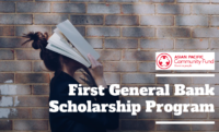 First General Bank program, 2020