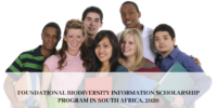 Foundational Biodiversity Information program in South Africa, 2020