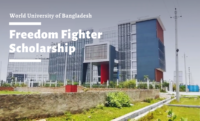 Freedom Fighter Scholarship at World University of Bangladesh