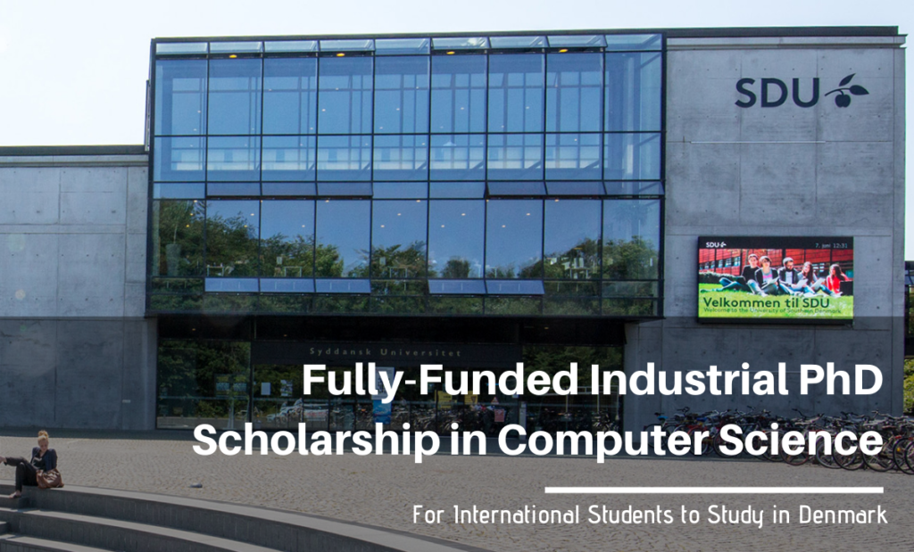 Fully-Funded Industrial PhD Scholarship in Computer Science at the University of Southern Denmark