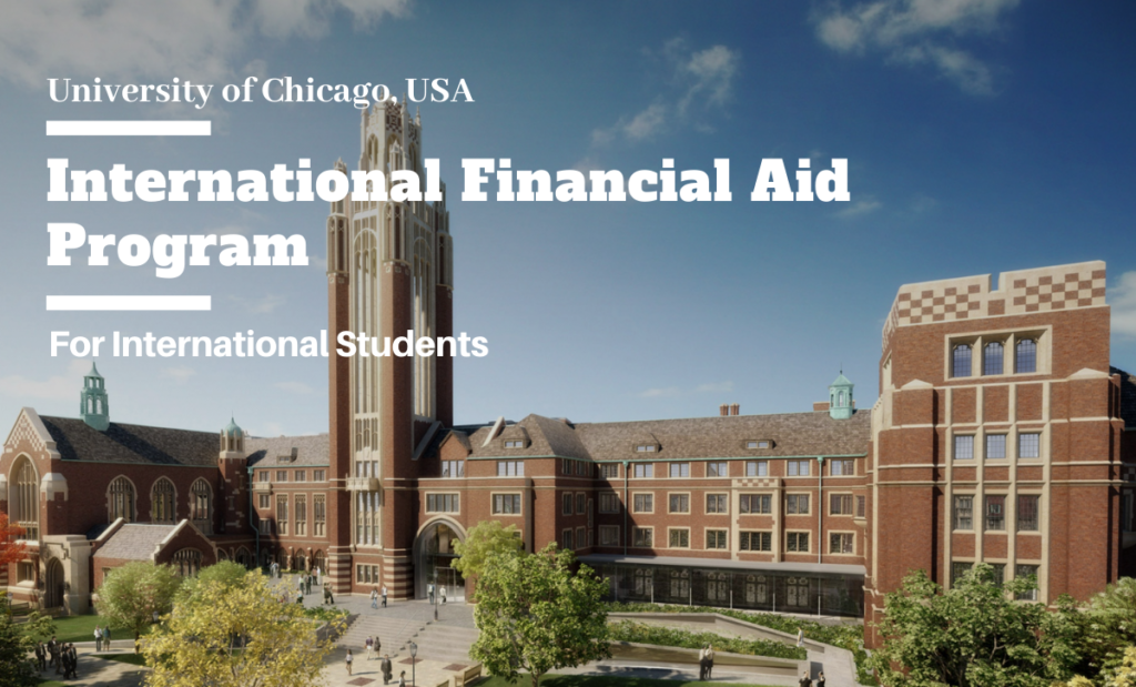 International Financial Aid Program at University of Chicago, USA