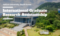 International Graduate Research Assistantship at Hallym University, Korea