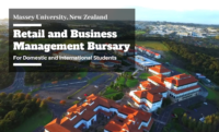 International Retail and Business Management Bursary at Massey University, New Zealand