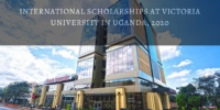 international awards at Victoria University in Uganda, 2020