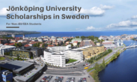 Jönköping programs for Non–EU/EEA Students in Sweden