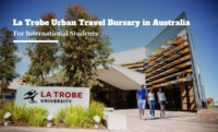 La Trobe Urban Travel Bursary for International Students in Australia