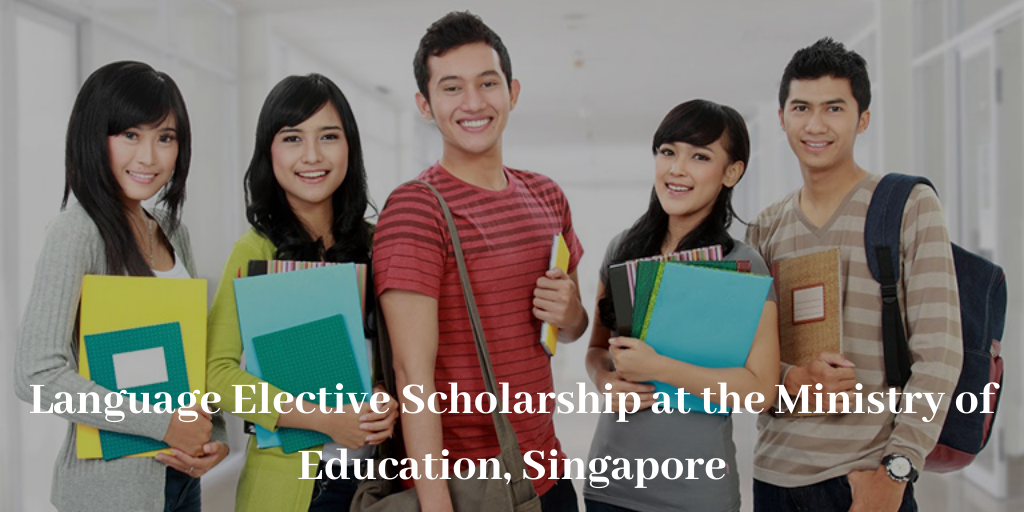 Language Elective Scholarship at the Ministry of Education, Singapore
