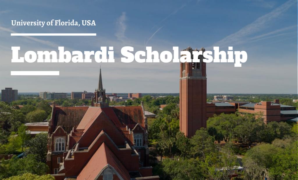 Lombardi Scholarship
