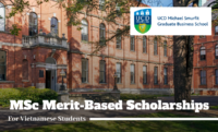 MSc Merit-Based Scholarships for Vietnamese Students in Ireland