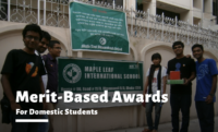 Merit-based Awards at Maple Leaf International School, Bangladesh