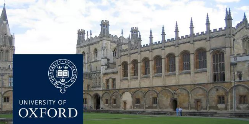 Palgrave Brown UK Scholarship at University of Oxford, 2020