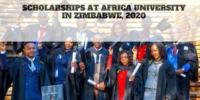 Scholarships at Africa University in Zimbabwe, 2020