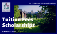 Swedish University of Agricultural Sciences Tuition Fees Scholarships for EU-EEA and Switzerland Students