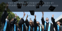The Fulbright Foreign Student program in Nigeria, 2020