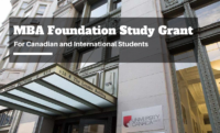 University Canada West MBA Foundation Study Grant for Canadian and International Students