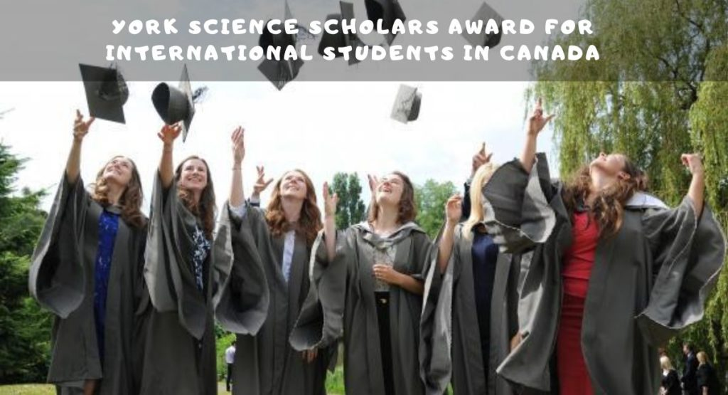 York Science Scholars Award For International Students In Canada
