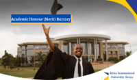 Academic Honour (Merit) Bursary at Africa International University, Kenya