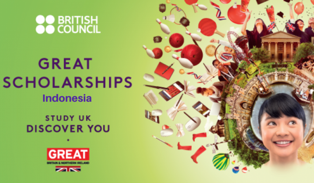 British Council Great Awards for Indonesian Students in the UK