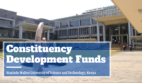 Constituency Development Funds at Masinde Muliro University of Science and Technology, Kenya