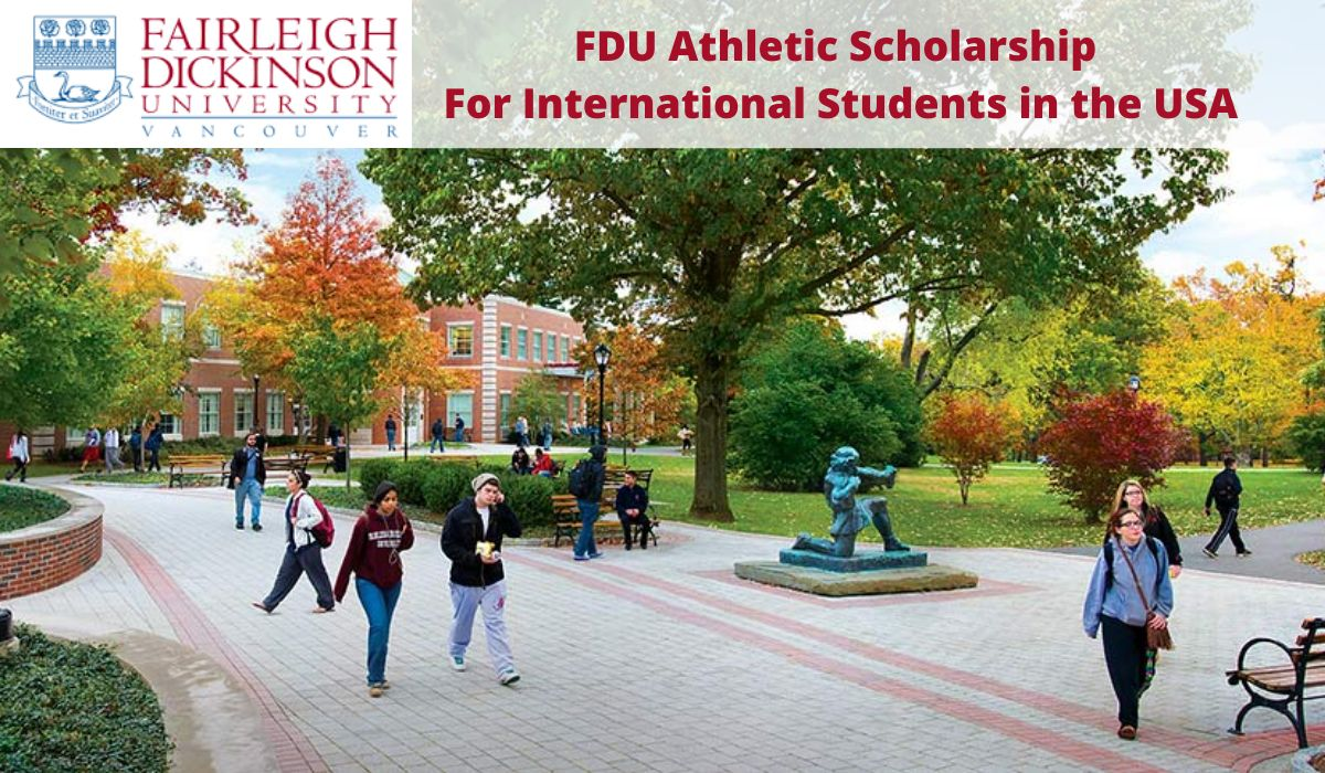 FDU Athletic funding for International Students in the USA