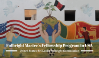 Fulbright Master's Fellowship Program in USA, 2020-2021