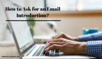 How to Ask for an Email Introduction?