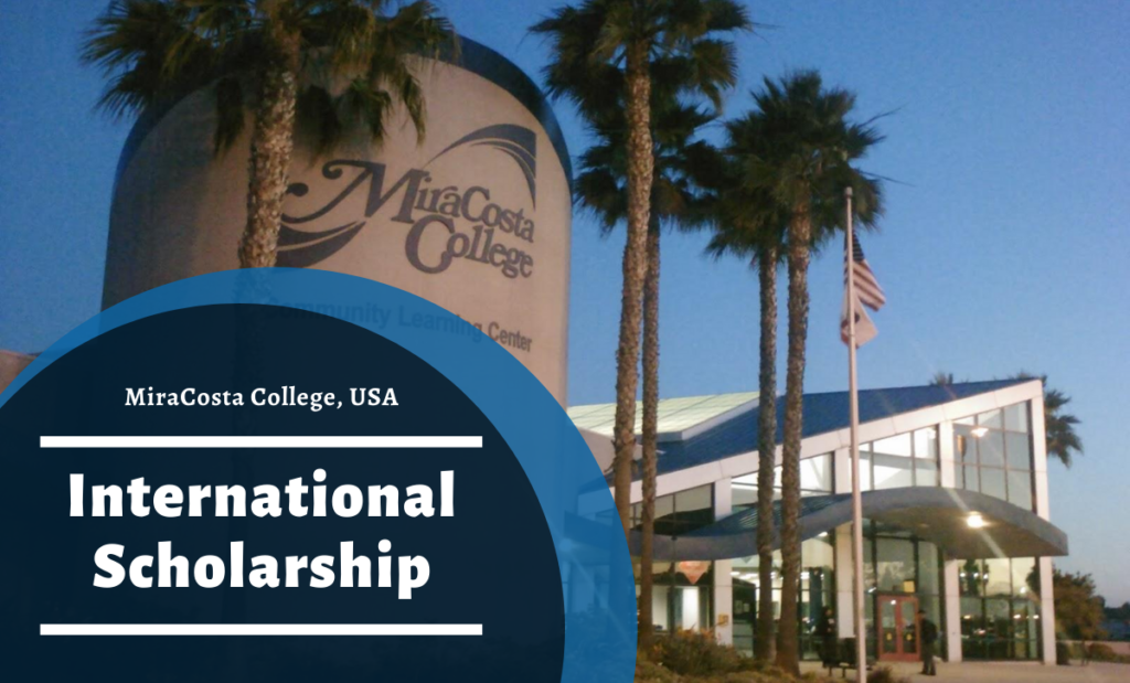 MiraCosta College International Scholarship in the USA