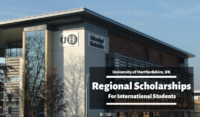 Regional Scholarships for International Students at University of Hertfordshire, UK