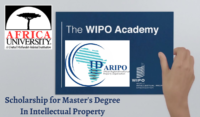 funding for Master's Degree in Intellectual Property at Africa University, Zimbabwe