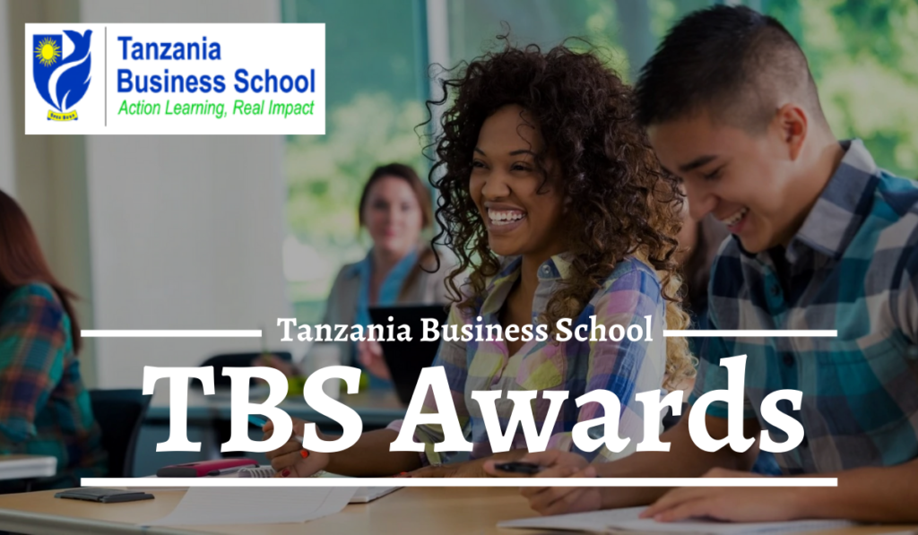 Tanzania Business School Awards for the Academic Year 2020-2021