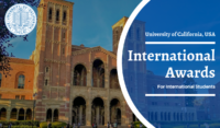 University of California International Awards in the United States, 2020-2021