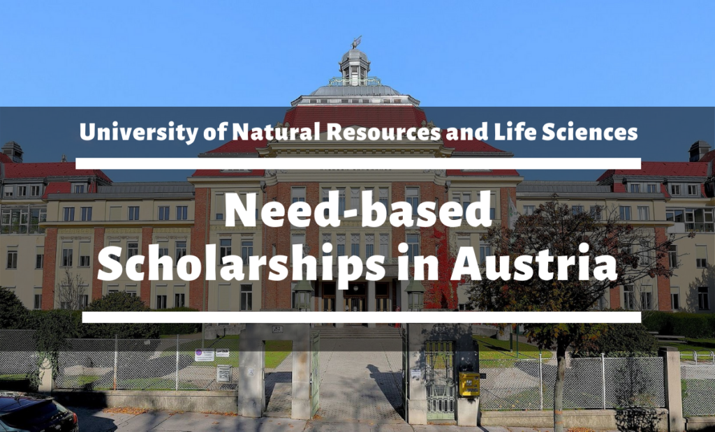 University of Natural Resources and Life Sciences need-based awards in Austria