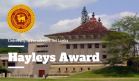 University of Peradeniya Hayleys Award in Sri Lanka