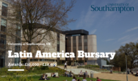 University of Southampton Latin America Bursary in the UK