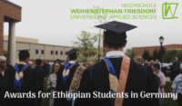 Weihenstephan-Triesdorf University of Applied Sciences Awards for Ethiopian Students in Germany