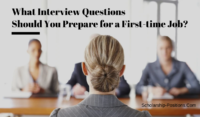 What Interview Questions Should You Prepare for a First-time Job