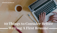 What Things Should Students Know Before Writing Their First Resume?