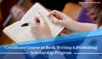 Certificate Course in Book Writing and Publishing program