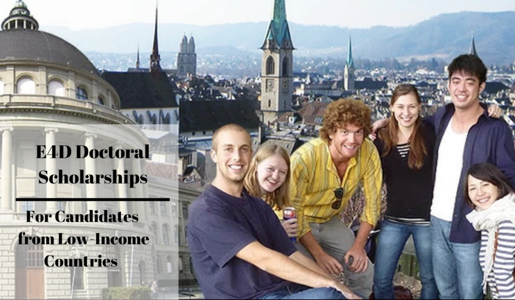 E4D Doctoral Scholarships
