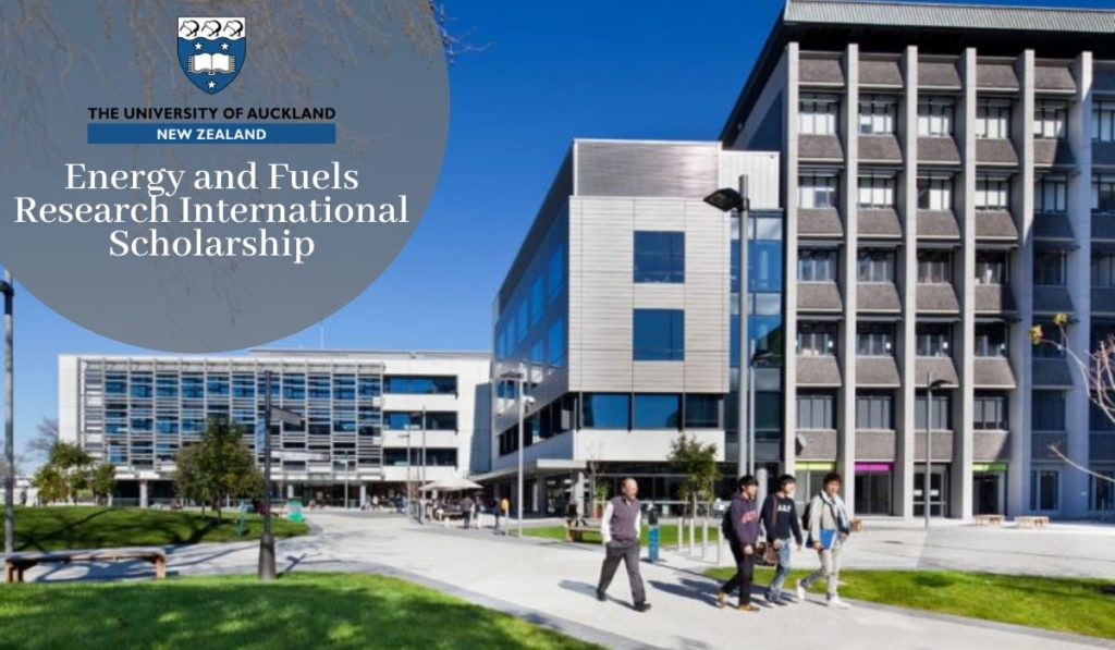 Energy and Fuels Research International Scholarship 1