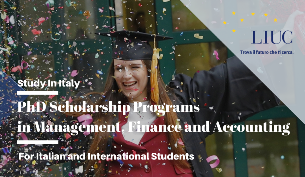 LIUC PhD programs in Management, Finance and Accounting in Italy