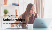 University of Law funding for International Students