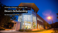 University of Michigan Dean's funding for International Students in USA