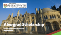 Aberystwyth University Abergrad funding for International Students in UK