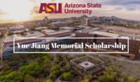 Arizona State University Yue Jiang Memorial funding for Chinese Students in the USA