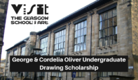 Glasgow School of Art George & Cordelia Oliver Undergraduate Drawing Scholarship