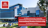 Griffith University International Student funding for Philippines Students in Australia